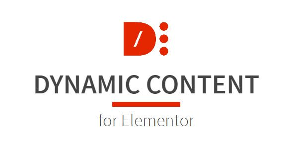 DYNAMIC CONTENT for Elementor 1