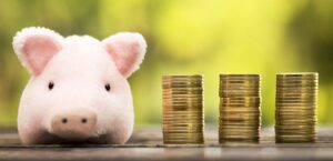 Money savings banner