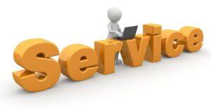 service, reception, business