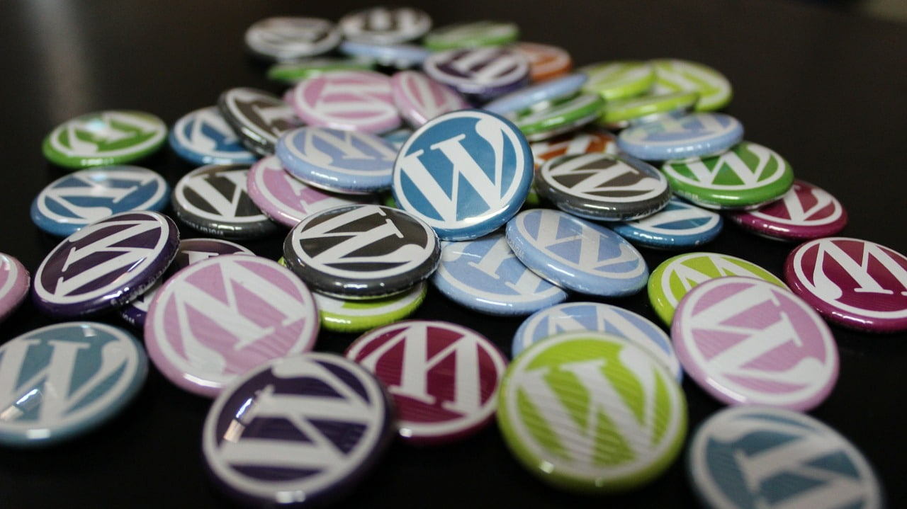 wordpress, badges, buttons