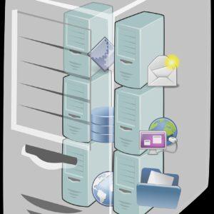 cloud computing, host, server