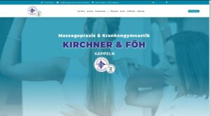 Homepage für Ihre Physiotherapie-Praxis