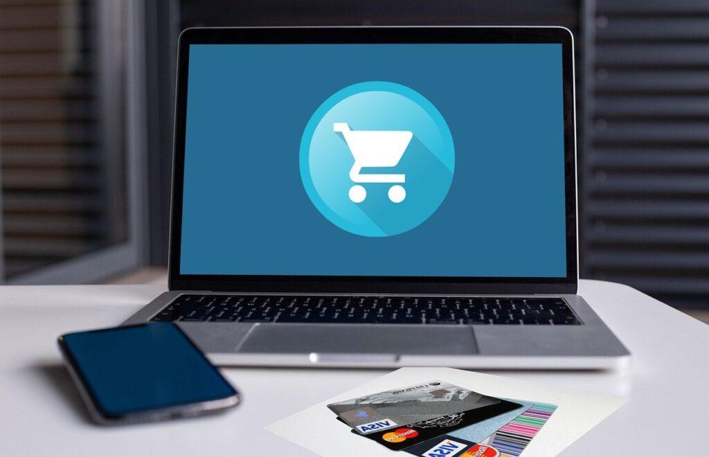 ecommerce, shopping, cart